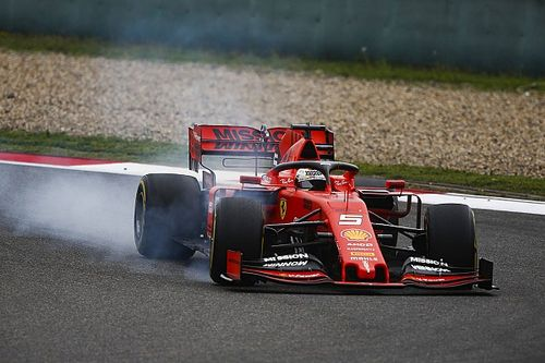 """Vettel: """"Qui ci mancava il passo. Ci sono cose della SF90 che non mi piacciono"""""""