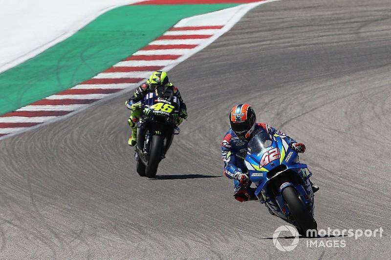 Kalah duel, Rossi akui keunggulan Rins