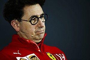 Chefe da Ferrari vê time no caminho certo apesar de jejum em 2019
