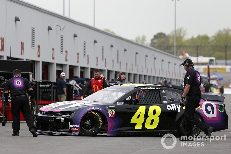 Four drivers in top-10 at Richmond lose their starting positions