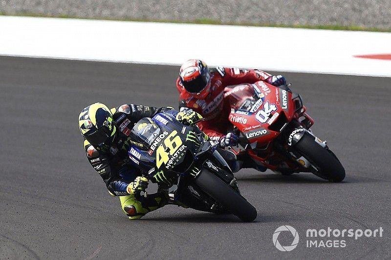 """Rossi: """"Fue emocionante llegar al podio en Argentina tras una espera tan larga"""""""