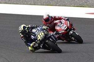 Duel lawan Rossi, Dovizioso takut terjatuh