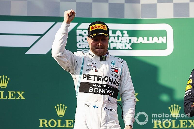 A vez de Bottas? História da F1 mostra que vencedor com dobradinha em Melbourne sempre foi campeão