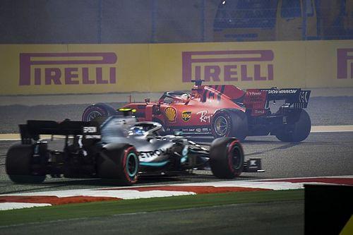 Die Startaufstellung zum Formel-1-Grand-Prix in Bahrain 2019