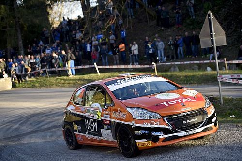 Rally Roma, Peugeot Competition 208 Top: Nicelli subito in testa