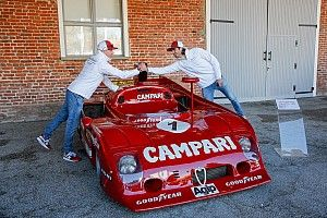 Райкконен и Джовинацци побывали на тестовой трассе Alfa Romeo