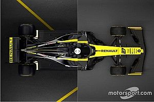 Slide view: Compare the Renault RS19 versus 2018 car