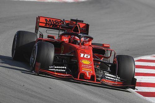 Леклер остался лидером по итогам седьмого дня тестов Ф1