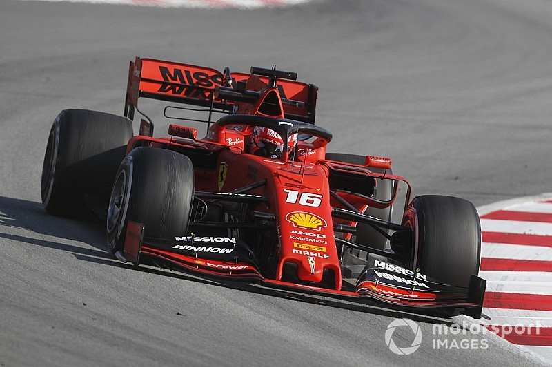 Leclerc quickest, Gasly crashes on penultimate test day