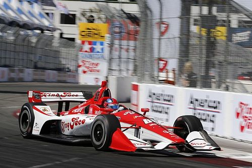 Long Beach IndyCar: Herta leads warm-up