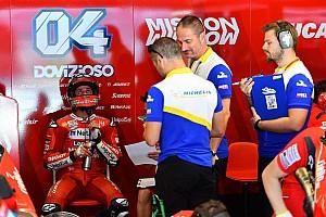 Dovizioso: les Michelin n'aiment pas les changements de pression