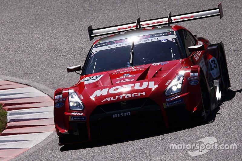 第1戦岡山GT500予選:クインタレッリ驚愕アタック。23号車ニスモGT-Rがポール