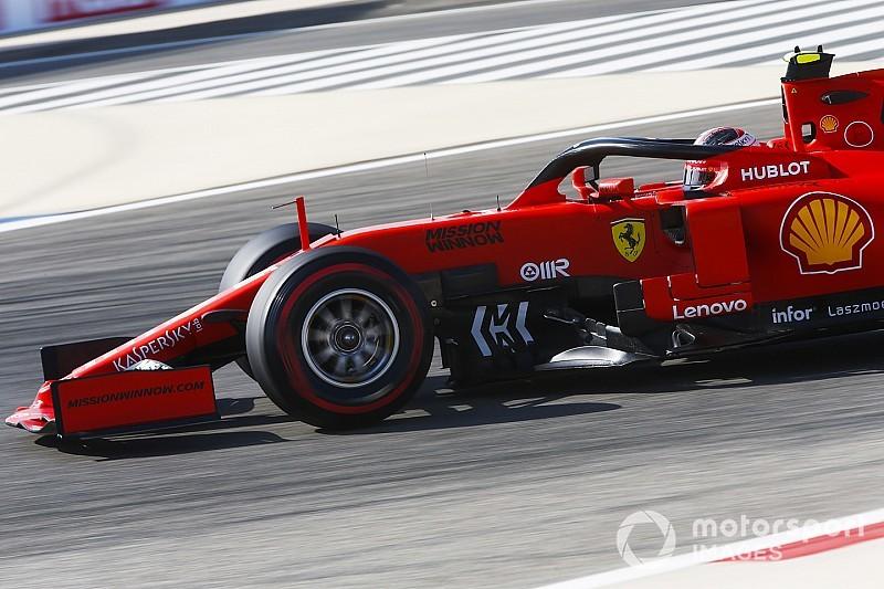 Leclerc lidera un doblete de Ferrari en la primera sesión de Bahréin