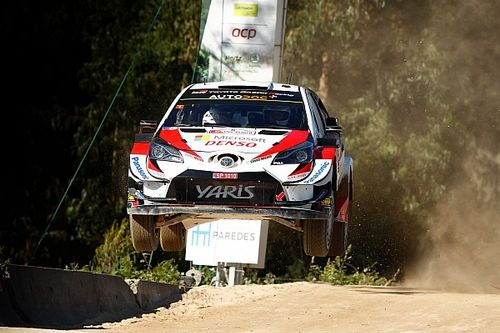 ES7 - Tänak emmène un triplé provisoire des Toyota