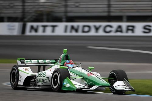 IndyCar GP: Herta leads Dixon in warm-up