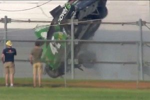 "Ryan Newman: Larson's airborne car at Talladega ""unacceptable"""