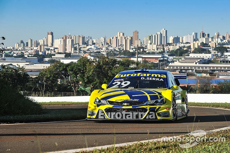 Líder da Stock Car, Serra é o mais rápido do fim de semana no 3º treino em Londrina