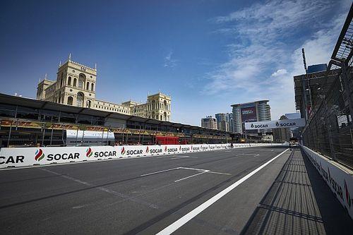 阿塞拜疆大奖赛FP1:窨井盖脱落导致第一节练习被取消