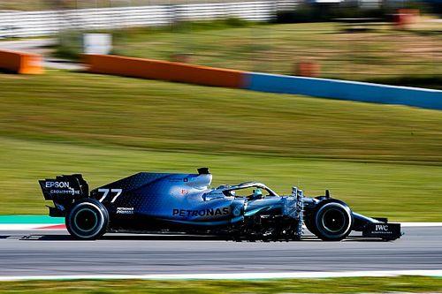 Bottas tops first morning of Barcelona F1 test
