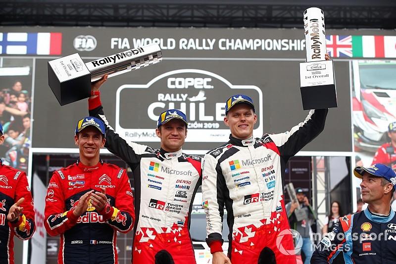 """WRC, Tanak dopo la vittoria in Cile: """"Al limite ci sono andato davvero poco..."""""""