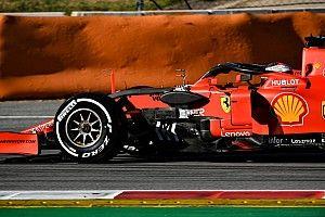Test Barcellona, giorno 1, ore 10: le due Ferrari davanti quando non conta