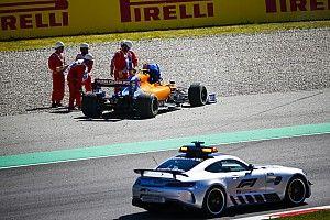 Видео: авария Норриса и Стролла на Гран При Испании