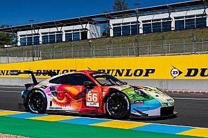 Гоночная команда заказала расцветку Porsche для Ле-Мана известному художнику
