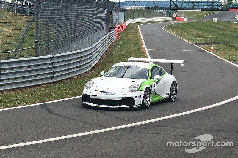 F1-simcoureur Van Buren maakt eerste meters in Porsche Supercup
