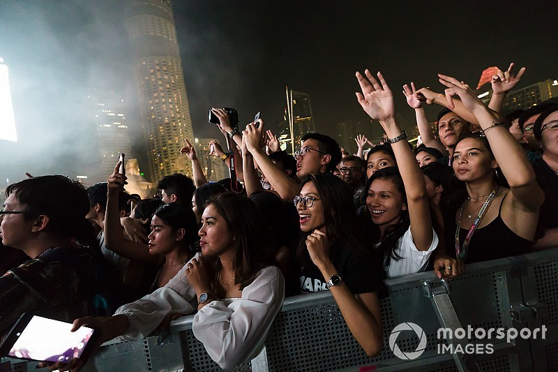 Las actuaciones musicales se apoderan del GP de Francia de F1