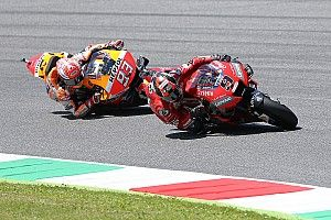 ماركيز لم يُهاجم بيتروشي في اللفّة الأخيرة من سباق موجيللو