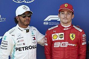 """Leclerc: """"Hamilton'ın Türkiye GP performansı, en iyisi olduğunu kanıtlıyor"""""""