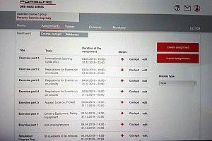 """Carrera Cup Italia, per la prima volta piloti """"a scuola"""" di regole via web!"""