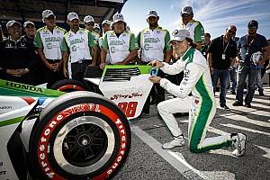Road America IndyCar: Herta, 19 yıl 83 gün ile en genç pole pozisyonunu kazanan isim oldu