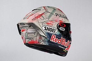 MotoGP Catalunya, Marquez pamer helm spesial