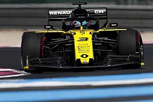 Így tolja Ricciardo az F1 2019-ben a francia pályán