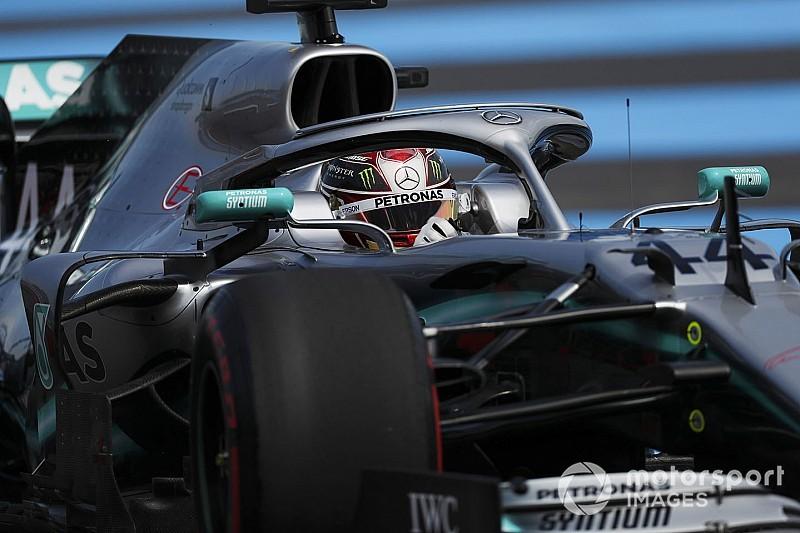 Hamilton martwił się o opony