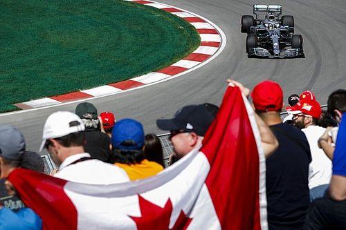 Hamilton supera a Bottas en el inicio de Canadá