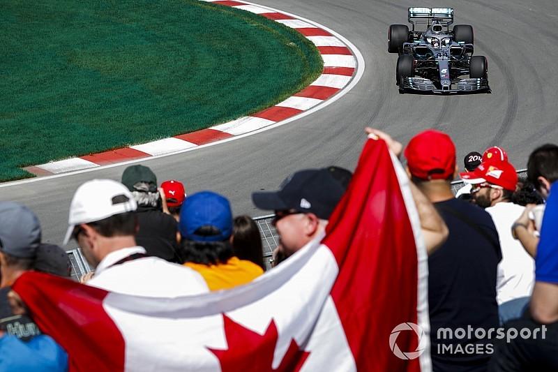 Montreal, Libere 1: Hamilton guida le due Mercedes davanti, Ferrari staccate