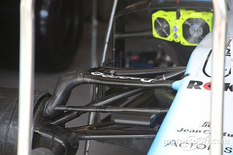 New Williams suspension makes practice debut in Canada