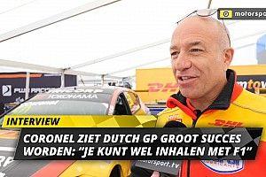 """Coronel ziet Dutch GP groot succes worden: """"Je kunt wel inhalen"""""""