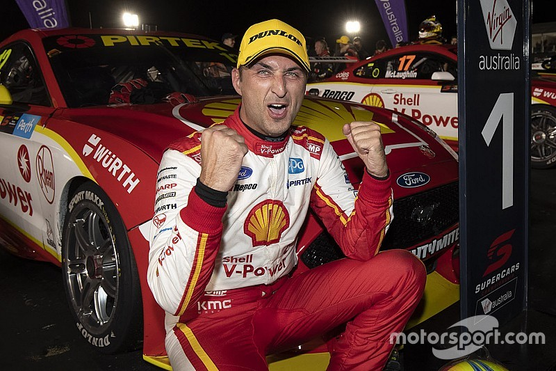 Perth Supercars: Coulthard beats McLaughlin in first night race
