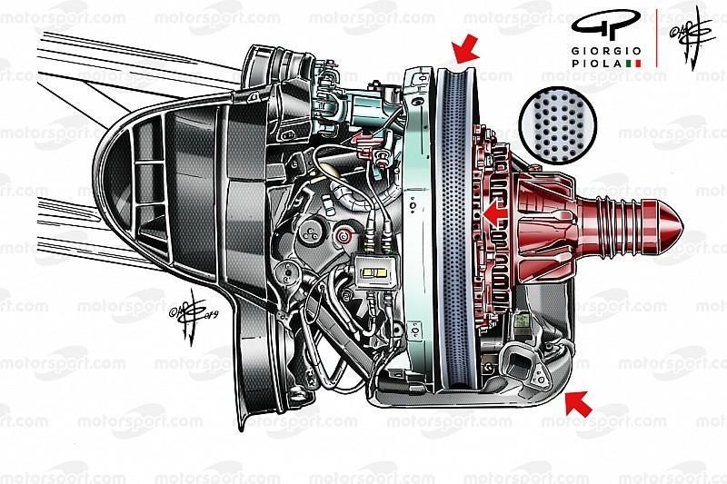 Ferrari SF90: uno dei punti di forza è l'impianto frenante personalizzato a ogni GP