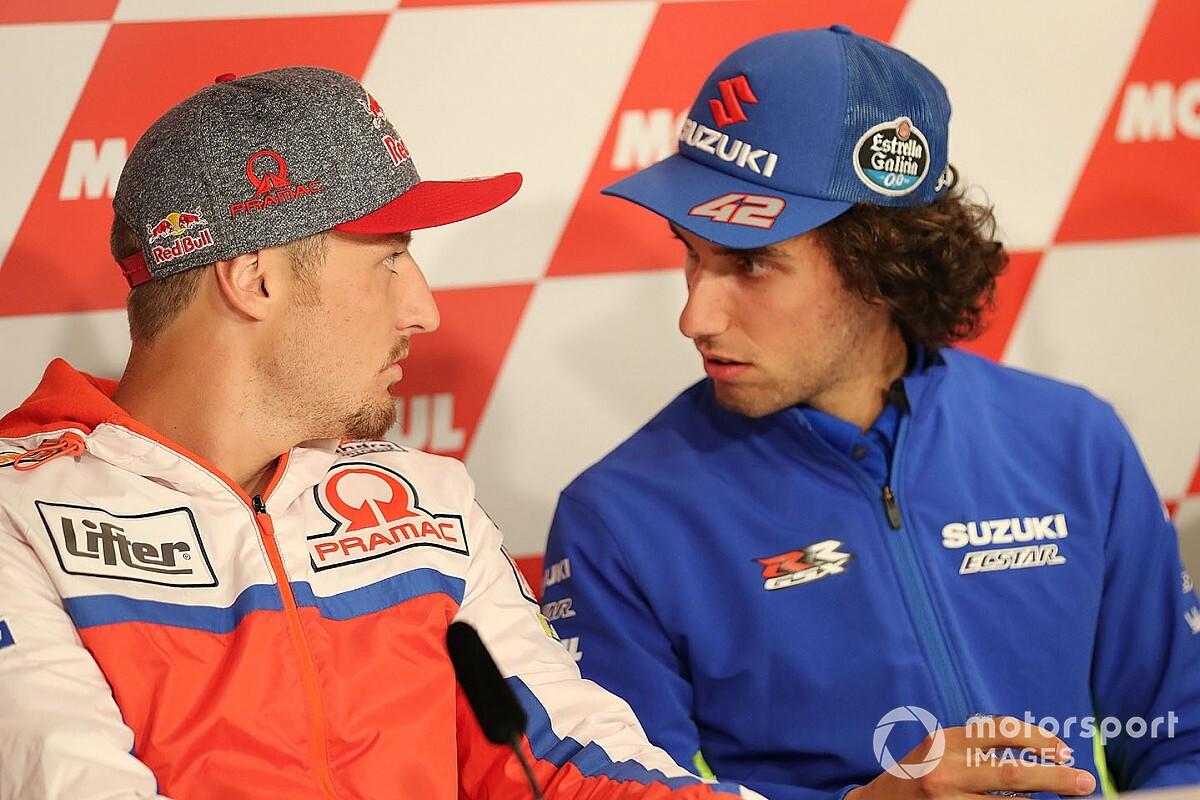 """Rins: """"Fa un po' rabbia vedere che Miller può allenarsi in moto"""""""