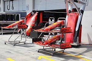 A Ferrari metamorfózisa az első szárnnyal kezdődik