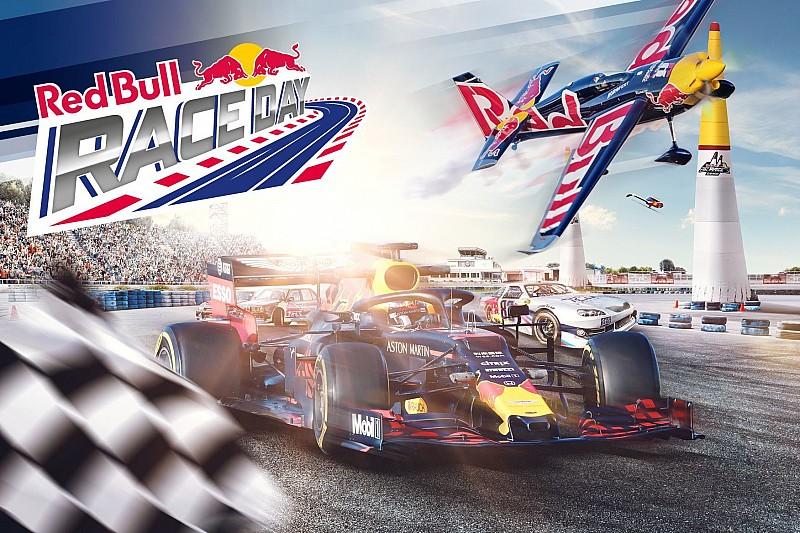 Il Red Bull RACE DAY offrirà spettacolo in terra e in cielo