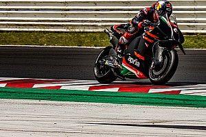 "Dovizioso ""not very competitive"" in Aprilia MotoGP tests – Espargaro"