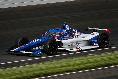 Indy 500: Kanaan leads Daly on Day 3 practice as Ferrucci crashes