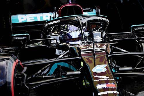 """Hamilton celebra 97ª vitória na F1 em corrida ótima mas """"muito difícil"""""""