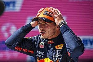 Verstappen y su enojo a pesar de ganar la pole en Austria
