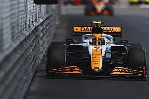 "Norris: Fending off Perez for Monaco podium was ""stressful"""